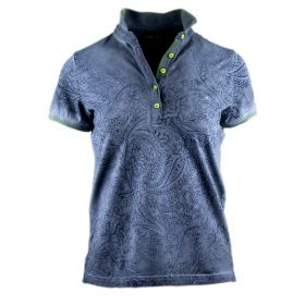 Polo Mujer Shockly POLO-CASHMERE (Azul-01, M)