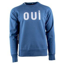 Sudadera Hombre Edmmond Oui (Azul-01, XL)