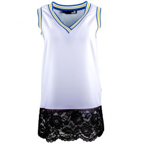 Top Mujer Love Moschino WCC5200T9352 (Blanco, M)
