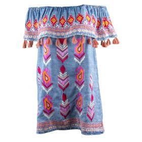 Vestido Mujer Tolani 18TO2068-119 (Multicolor, L)
