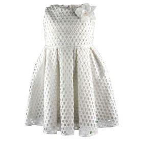 Vestido Niña Elsy baby 7120-SPIL0097 (Blanco, 4-años)
