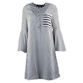 Vestido Mujer Karl Lagerfeld Stripe Shirt 1303 (Bicolor, XS)