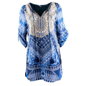 Vestido Mujer Tolani 18TO2028-534 (Azul-01, M)