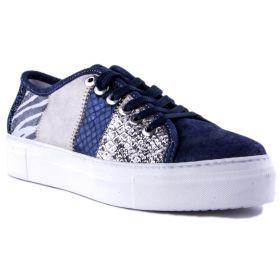 Zapatillas Mujer Alpe 3268R528 (Azul-01, 35 )