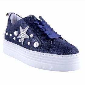 Zapatillas Deportivas Mujer Alpe 35523828 (Azul-01, 37)