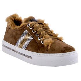Zapatillas Mujer Alpe 32661102 (Beige-01, 39)