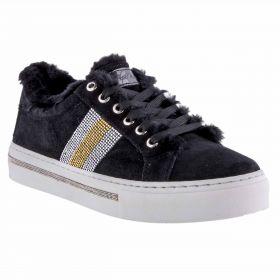 Zapatillas Mujer Alpe 32661105 (Negro, 37)