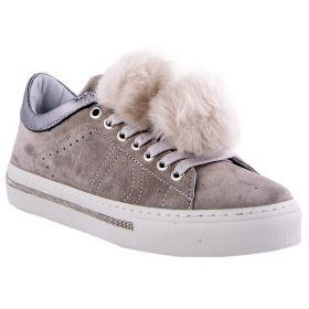 Zapatillas Mujer Alpe 32871107 (Gris-02, 36 )