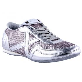 Zapatillas deportivas Mujer Munich 5250340 (Plata, 36)