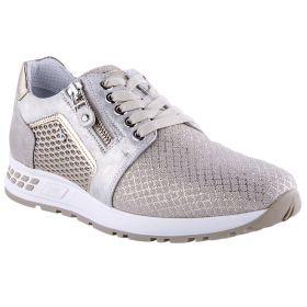 Zapatillas Deportivas Mujer Nero Giardini 05234D (Beige-01, 35)
