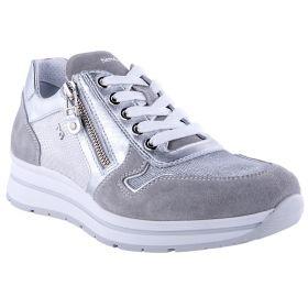 Zapatillas Deportivas Mujer 05243D (Gris-01, 38)