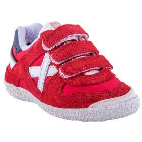 Zapatillas deportivas Niño Munich 8128376 (Rojo-01, 24)