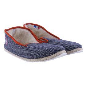 Zapatillas Hogar Pantoufle à Pépère LES-RETRO (Azul-01, 41)