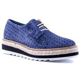 Zapato Mujer Alpe 32851126 (Azul-02, 35 )