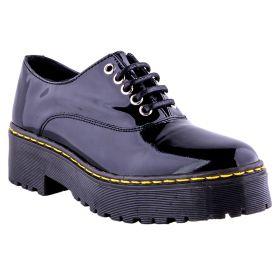 Zapato Mujer Alpe 34725005 (Negro, 36)