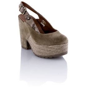 Zapato Mujer Hangar shoes 4536 (Beige, 37 )