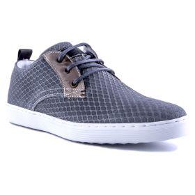 Zapato Hombre Bullboxer 779K23939ISU10 (Gris-01, 41)