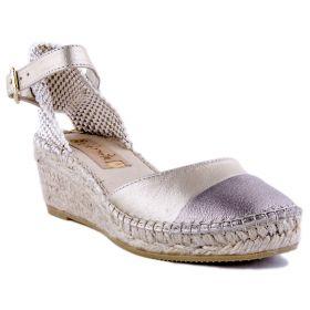 Zapato Mujer Vidorreta 08800 (Dorado, 36 )