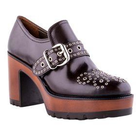 Zapato Mujer Alex 6355-P04 (Marron-01, 36)