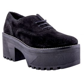 Zapato Mujer Alpe 35051105 (Negro, 38)