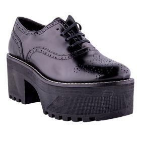 Zapato Mujer Alpe 35051805 (Negro, 39)