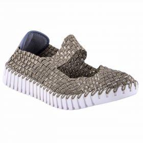 Zapato Mujer Rock Spring Alegra (Dorado, 36)