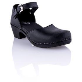 Zapato Mujer Glove 7733-VITELLO (Negro, 36 )