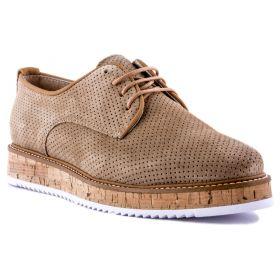 Zapato Mujer Alpe 32781108 (Beige, 39)