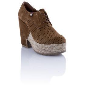 Zapato Mujer Hangar shoes 4535 (Marron, 36 )