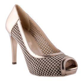 Zapato Salón Mujer Nero Giardini 05450DE (Dorado, 36)