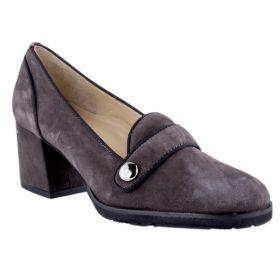 Zapatos de Salón Mujer Brunate 60342 (Gris-01, 39)