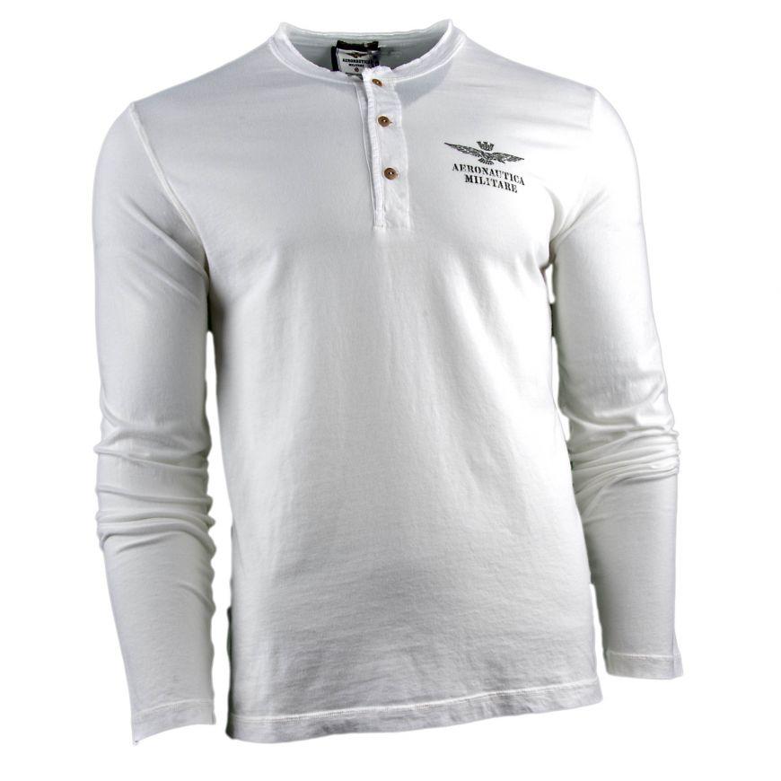 Camiseta Hombre Aeronautica Militare TS1433J372 (Blanco 0614b600f769c