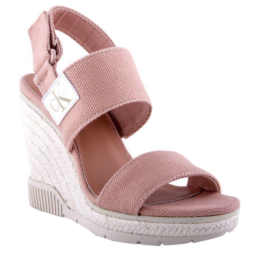 Klein Calvin Jeans Mujer R8811 Sandalia 37 Rosa 01 Nss0paw1q 8Owkn0PX