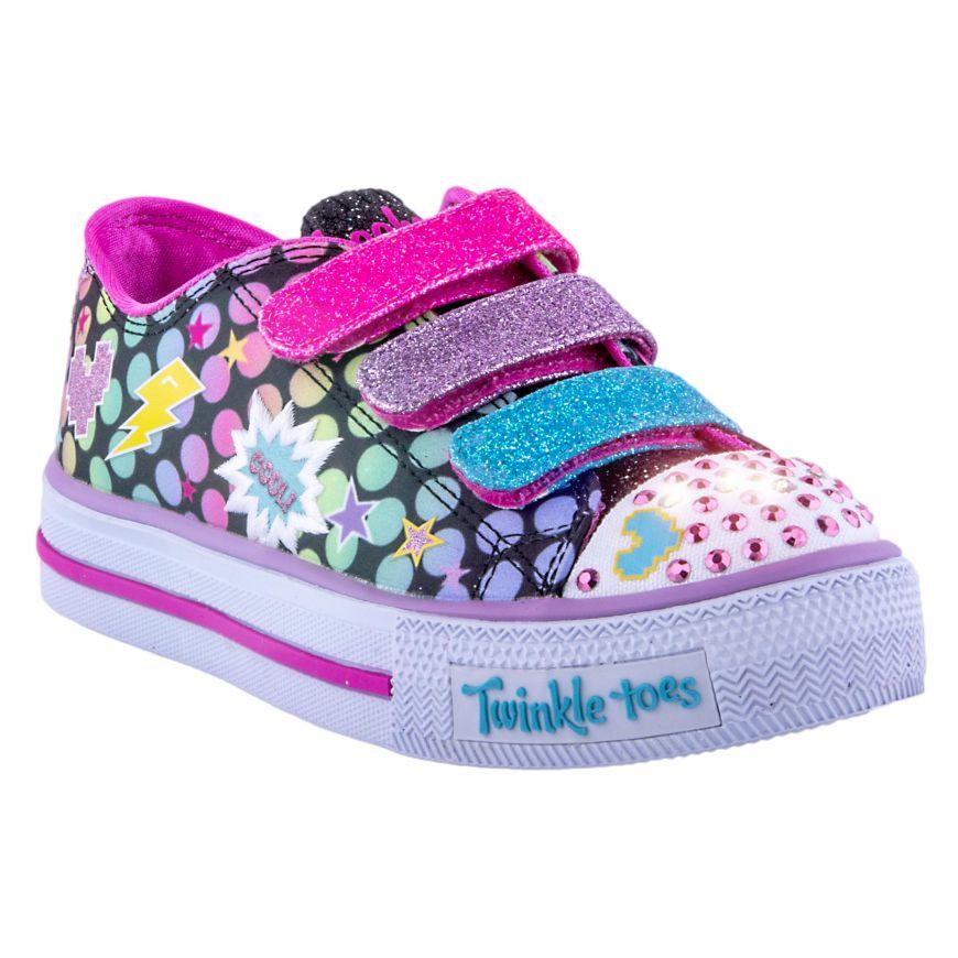 claro y distintivo En liquidación zapatillas Zapatillas Niña Skechers 10835L