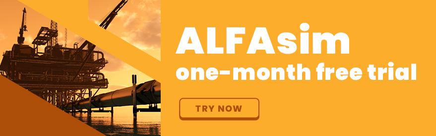 ALFAsim trial