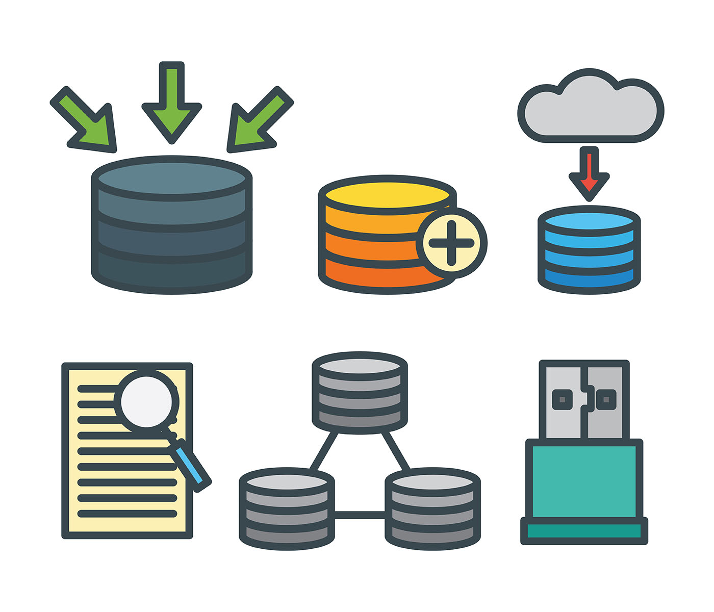 Databases and SQL Cheat Sheet for Interviews The first two screens provide a brief introduction into databases and SQL. To jump right into interview questions, start with the third screen (https://algo...