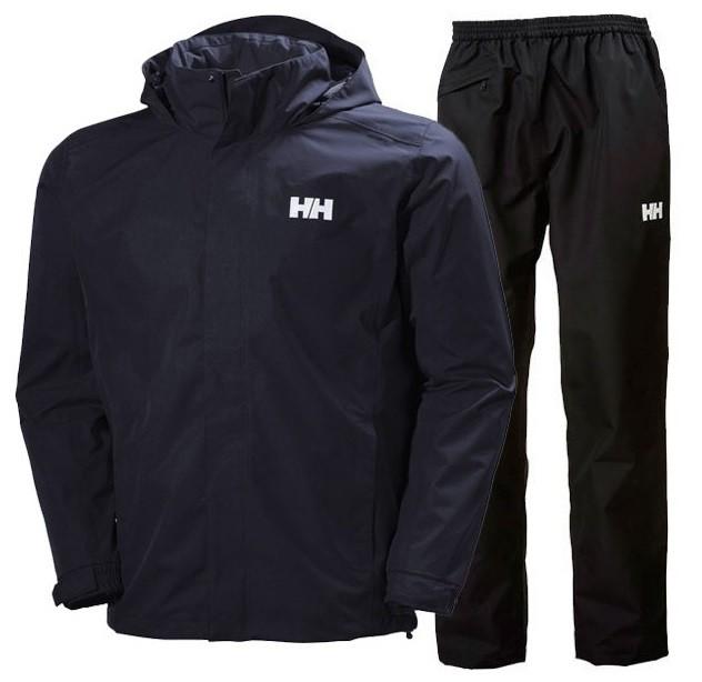 Helly Hansen Dubliner Regnsæt Herre, navy