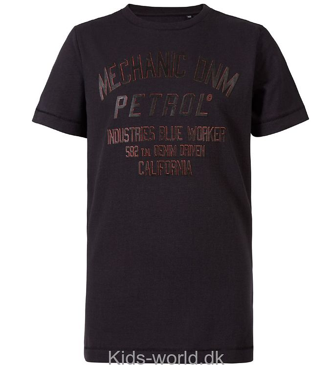 Petrol Industries T-shirt - Sort m. Print