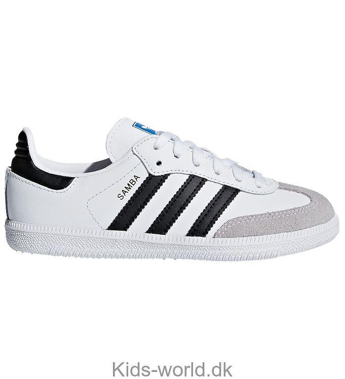 adidas Originals Sko - Samba - Hvid