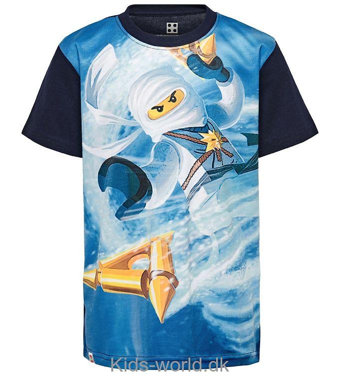 Lego Ninjago T-shirt - Navy/Blå m. Ninjago