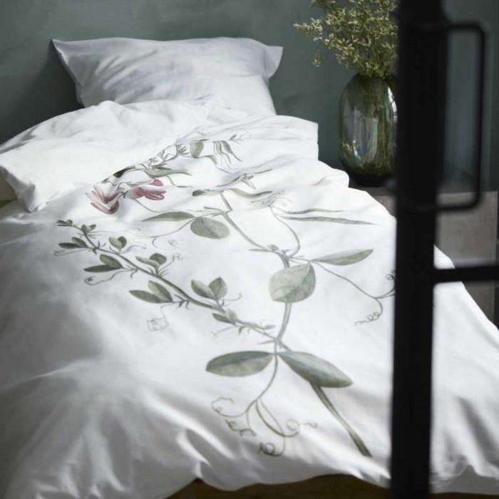 Södahl flora danica fladbælg sengesæt