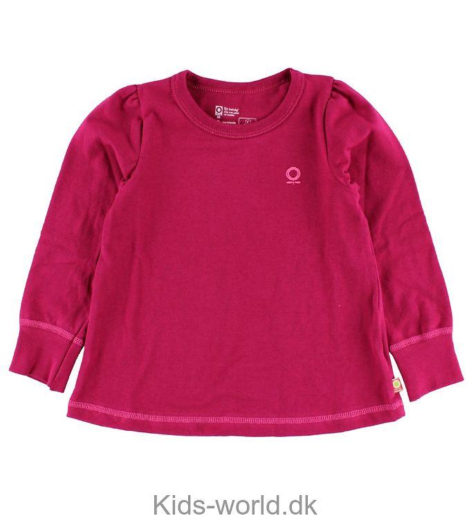 Katvig Bluse - Mørk Pink