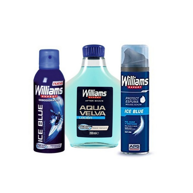 Expert Aqua Velva Sæt - Aftershave - Deodorant - Shavegel