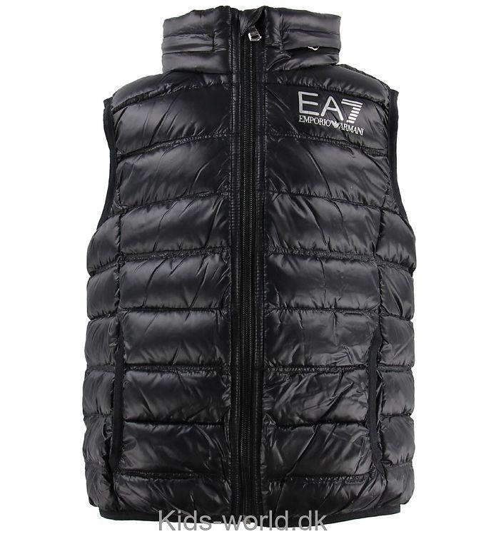 EA7 Vest - Sort