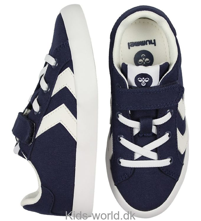 Hummel Sko - Deuce Court Jr - Navy