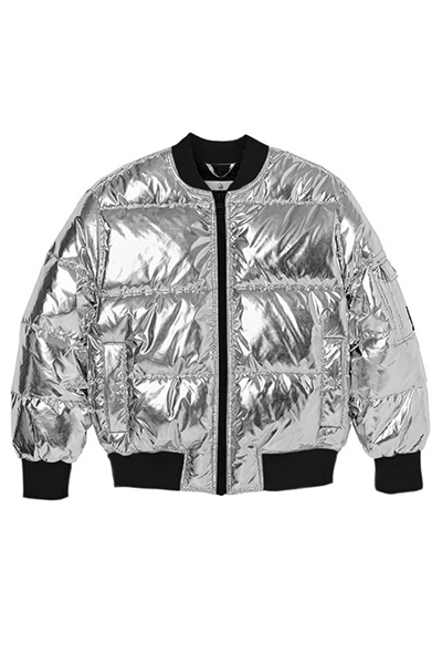Cheap Monday - Jakke - Risky Bomber - Silver