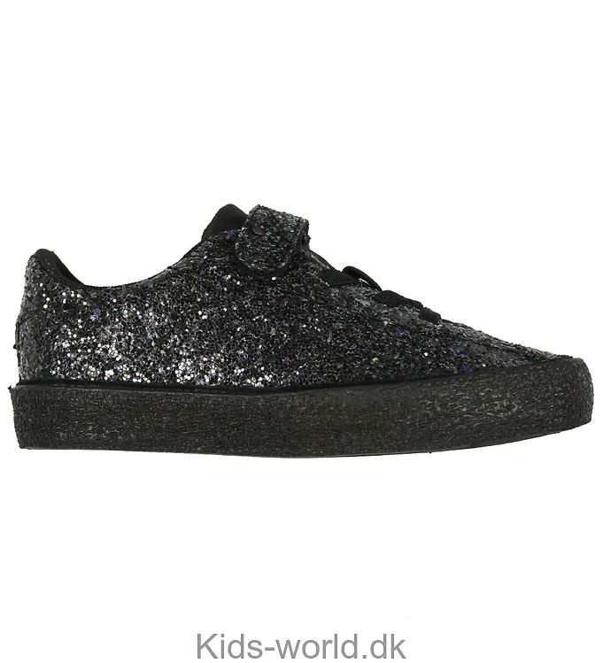 Hummel Sko - Diamant Glitter Jr - Sort