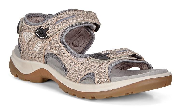 Ecco Offroad Yucatan Sandal Dame grå/sand