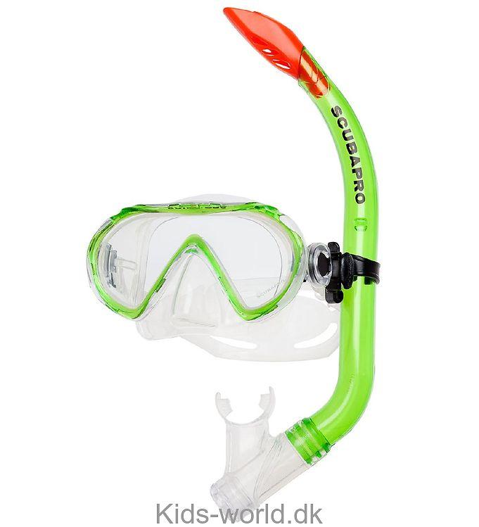 Scubapro Snorkelsæt - Spider - Transparent Grøn