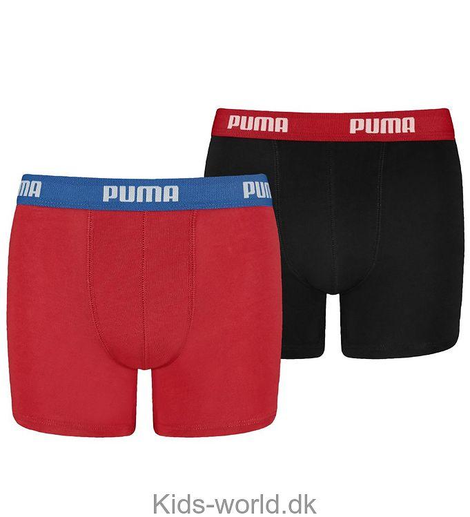 Puma 2-pak Boxershorts - Basic - Sort/Rød